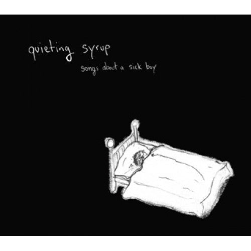 "LOV059-2 Quieting Syrup ""Songs About A Sick Boy"" CD Album Artwork"
