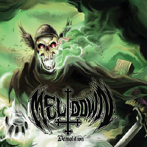 "MAL27-2 Meltdown ""Demolition"" CD Album Artwork"
