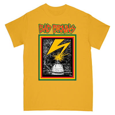 "MD13465S Bad Brains ""Capitol (Gold Shirt)"" -  T-Shirt Front"