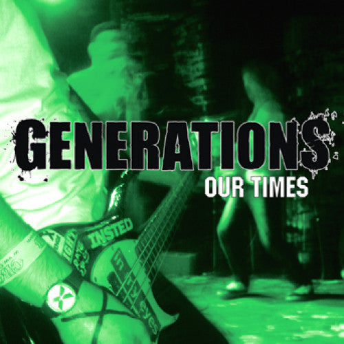 "MKD05-2 Generations ""Our Times"" CD Album Artwork"