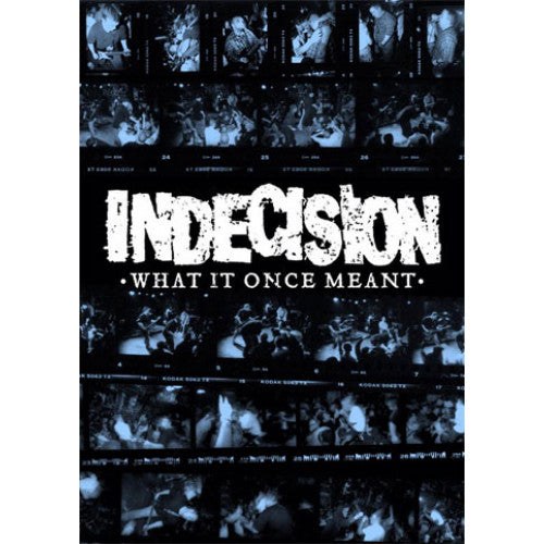 "MOCR08-DVD Indecision ""What It Once Meant"" -  DVD"
