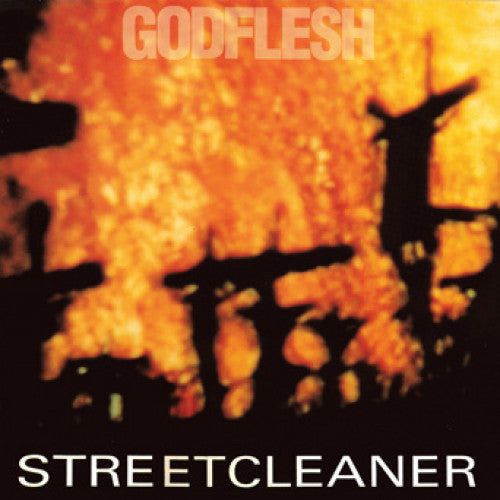 "MOSH015-1 Godflesh ""Streetcleaner"" LP Album Artwork"