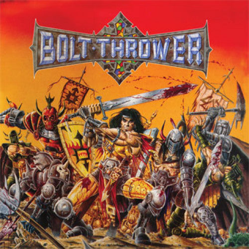 "MOSH029-1 Bolt Thrower ""Warmaster"" LP Album Artwork"