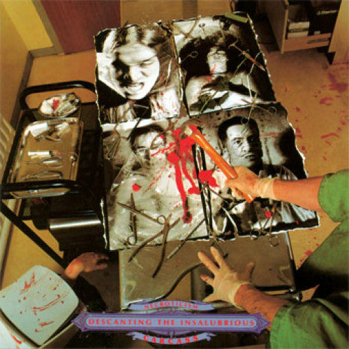 "MOSH042-1 Carcass ""Nectroticism - Descanting The Insalubrious"" LP Album Artwork"