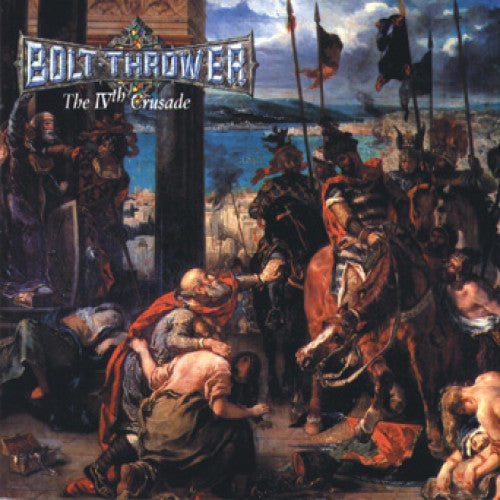 "MOSH070-1 Bolt Thrower ""The IVth Crusade"" LP Album Artwork"