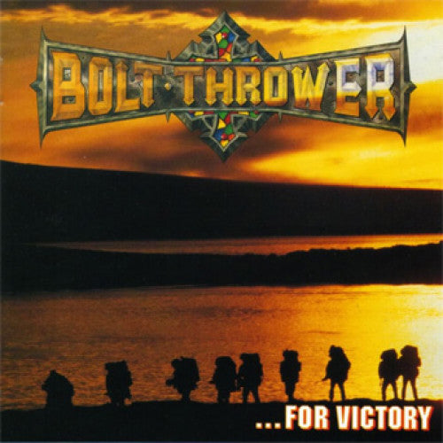"MOSH120-1 Bolt Thrower ""...For Victory"" LP Album Artwork"