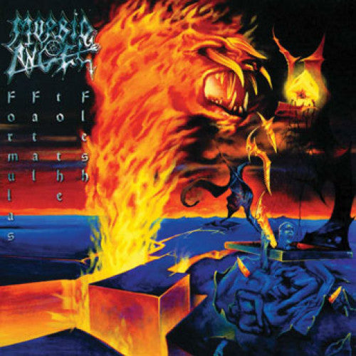 "MOSH180-1 Morbid Angel ""Formulas Fatal To The Flesh"" 2XLP Album Artwork"