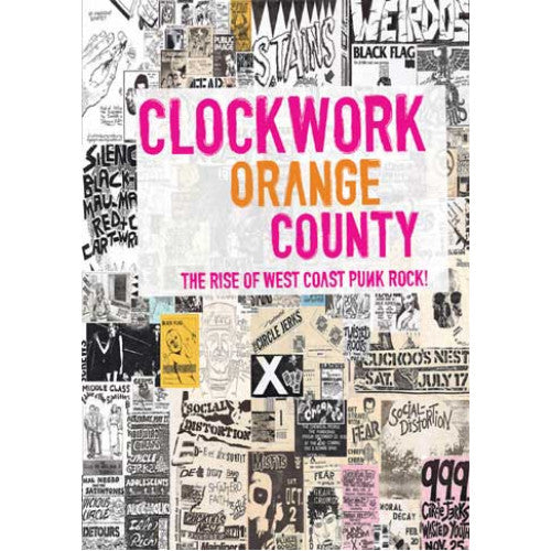 "MVD6339-DVD Clockwork Orange County ""The Rise Of West Coast Punk Rock!"" -  DVD"