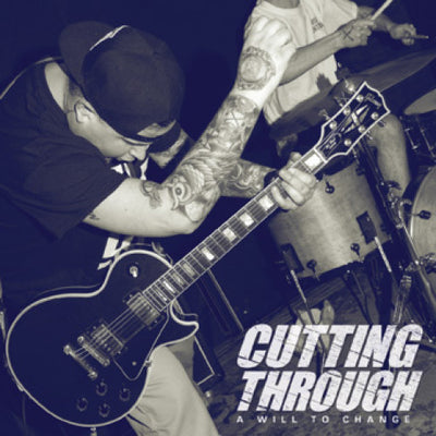 "NA068-1 Cutting Through ""A Will To Change"" 12""ep Album Artwork"