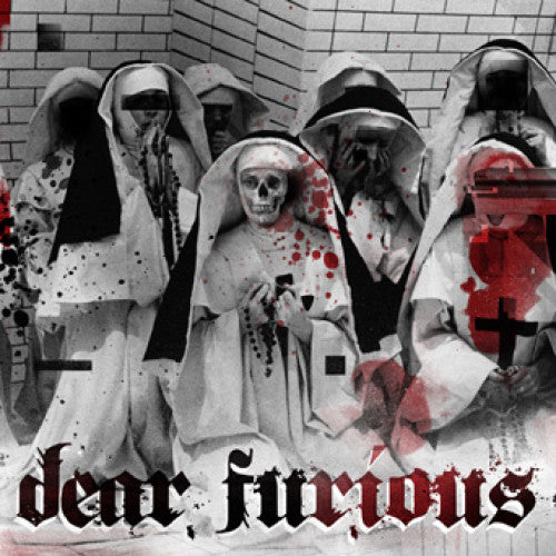 "NA071-1 Dear Furious ""s/t"" 7"" Album Artwork"