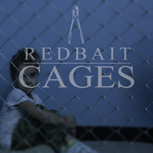 "NA079-1 Redbait ""Cages"" 7"" Album Artwork"