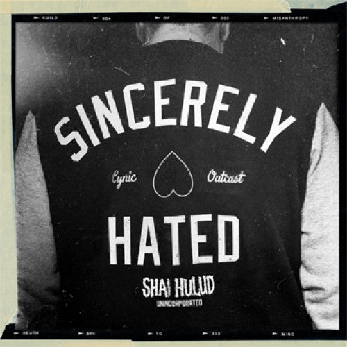 "NOSR120-1 Shai Hulud ""Just Can't Hate Enough x 2 ""Plus Other Hate Songs"" 12""ep Album Artwork"