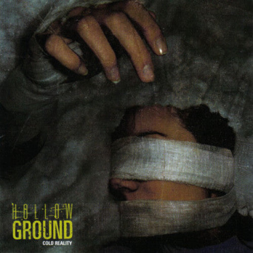 "OCR011 Hollow Ground ""Cold Reality"" 7""/CD Album Artwork"