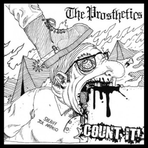 "OCR022-1 The Prosthetics ""Count It!"" 7"" Album Artwork"