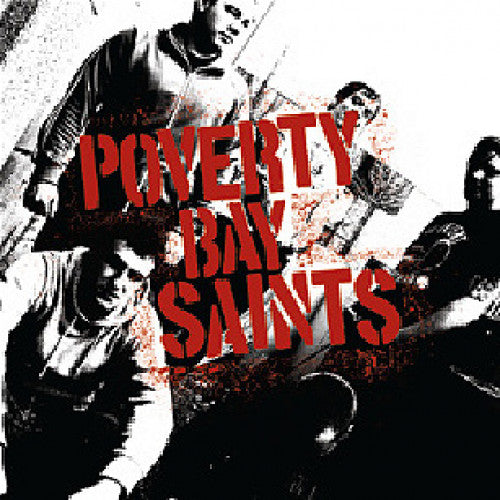 "OCR032-1 Poverty Bay Saints ""s/t"" 7"" Album Artwork"