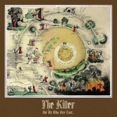 "OCR038-1 The Killer ""Not All Who Are Lost..."" LP Album Artwork"