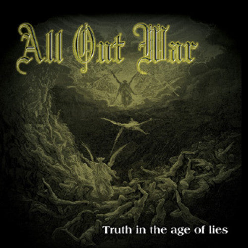 "OCR043-1 All Out War ""Truth In The Age Of Lies"" LP Album Artwork"