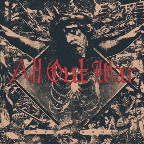 "OCR062-1 All Out War ""Dying Gods"" LP Album Artwork"