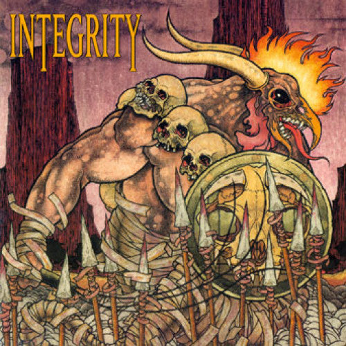 "OCR063-1 Integrity ""Humanity Is The Devil: 20th Anniversary Edition"" LP Album Artwork"