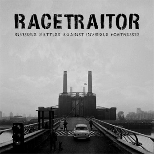 "OCR068-1 Racetraitor ""Invisible Battles Against Invisible Fortresses"" 7"" Album Artwork"