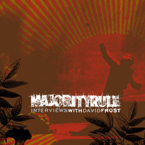 "OPS006-1 Majority Rule ""Interviews With David Frost"" LP Album Artwork"