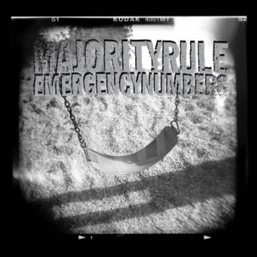"OPS009-1 Majority Rule ""Emergency Numbers"" LP Album Artwork"
