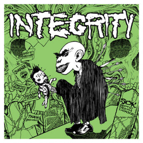 "OPS019-1 Integrity / Bleach Everything ""SDK X RFTCC (Split)"" LP Album Artwork"
