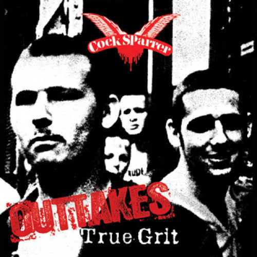 "PIR030-1 Cock Sparrer ""True Grit Outtakes"" LP Vinyl Album Artwork"