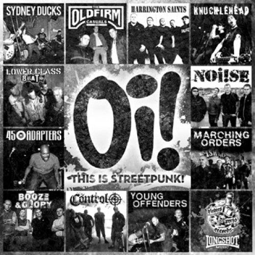 "PIR047-1 V/A ""Oi! This Is Streetpunk!"" 11"" Album Artwork"