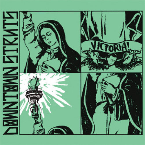 "PIR051-1/2 Downtown Struts ""Victoria!"" LP/CD Album Artwork"