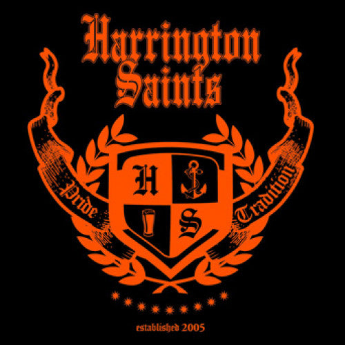"PIR056-1 Harrington Saints ""Pride & Tradition"" LP Album Artwork"