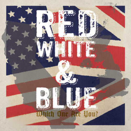 "PIR059-1 V/A ""Red White & Blue: Which One Are You?"" 2x7"" Album Artwork"