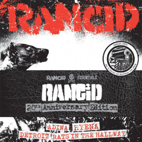 "PIR061-1 Rancid ""s/t (1993): 20th Anniversary Edition"" 4x7"" Album Artwork"