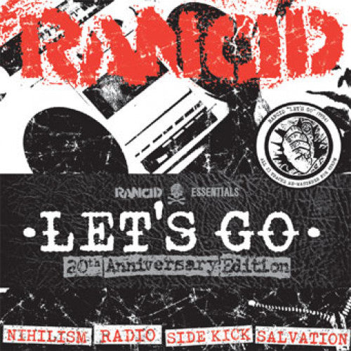 "PIR062-1 Rancid ""Let's Go: 20th Anniversary Edition"" 7""  Pack 5x7"" Album Artwork"