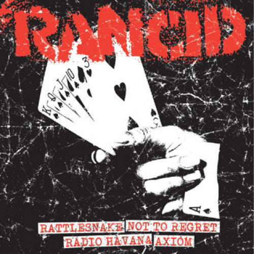 "PIR065EF-1 Rancid ""Rattlesnake + Not To Regret/Radio Havana + Axiom"" 7"" Album Artwork"