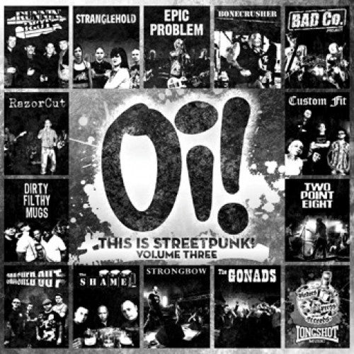"PIR079-1 V/A ""Oi! This Is Streetpunk! Volume Three"" LP Album Artwork"