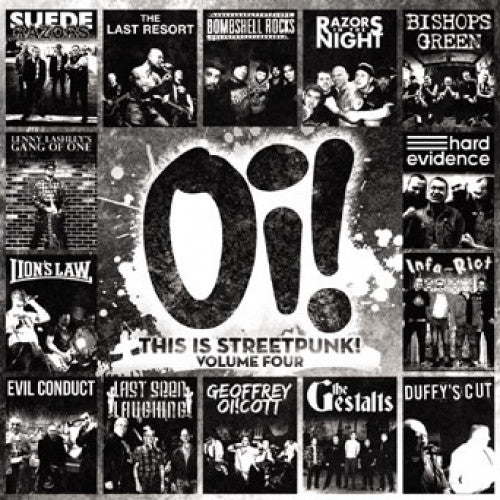 "PIR116-1 V/A ""Oi! This Is Streetpunk! Volume Four"" LP Album Artwork"