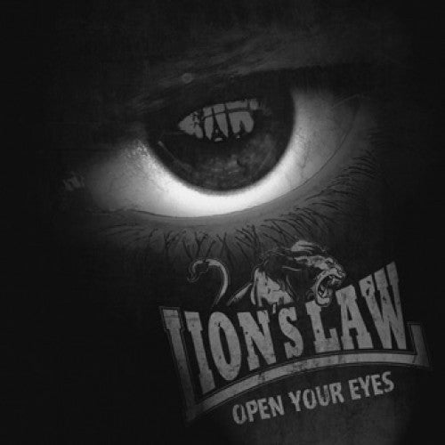 "PIR138-1 Lion's Law ""Open Your Eyes"" LP Album Artwork"