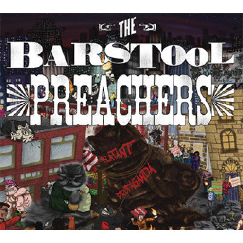 "PIR147 The Barstool Preachers ""Blatant Propaganda"" LP/CD Album Artwork"