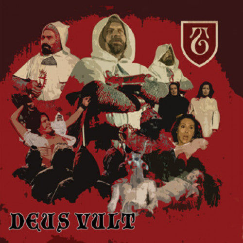 "PIR179-1 The Templars ""Deus Vult"" LP - Red Album Artwork"