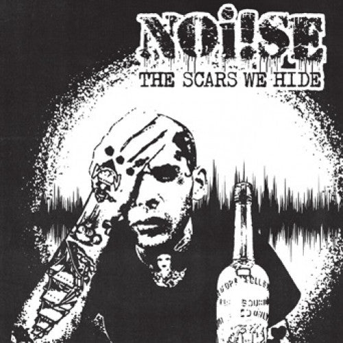 "PIR185-2 Noi!se ""The Scars We Hide"" CD Album Artwork"
