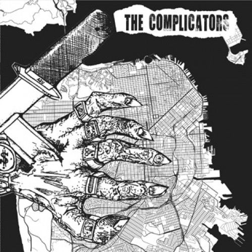 "PIR195-1 The Complicators / Empire Down ""Split"" 7"" Album Artwork"