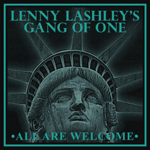 "PIR226-2 Lenny Lashley's Gang Of One ""All Are Welcome"" CD Album Artwork"