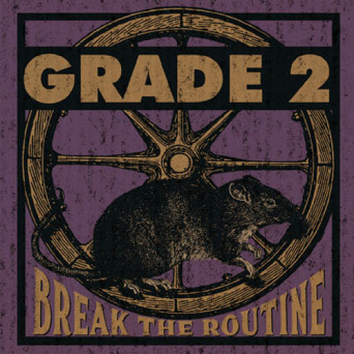 "PIR228 Grade 2 ""Break The Routine"" LP/CD Album Artwork"