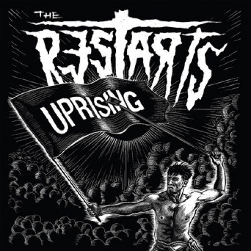 "PIR252-2 The Restarts ""Uprising"" CD Album Artwork"