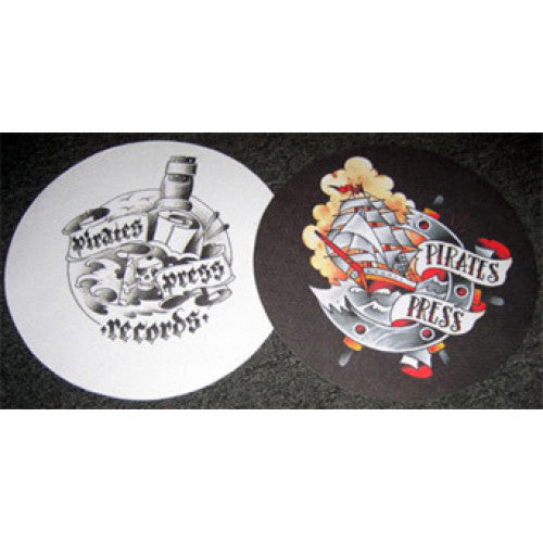 "PIRSLIP01 Pirates Press ""Logo"" -  Slipmat (2 Pack)"