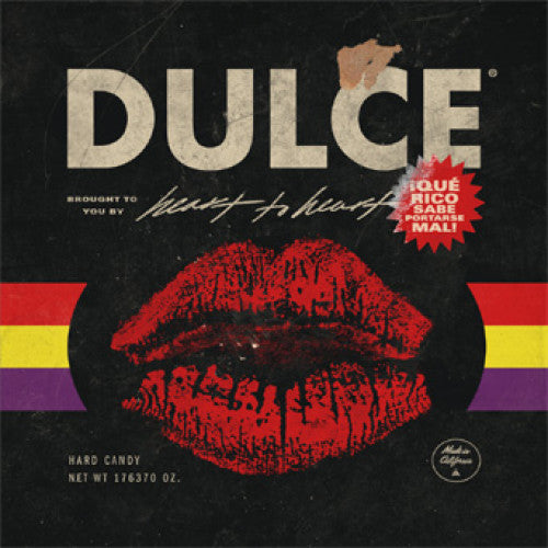"PNE147-1 Heart To Heart ""Dulce"" LP Album Artwork"