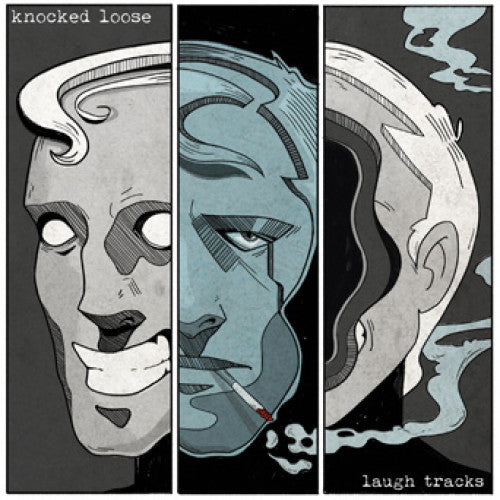 "PNE192 Knocked Loose ""Laugh Tracks"" LP/CD Album Artwork"