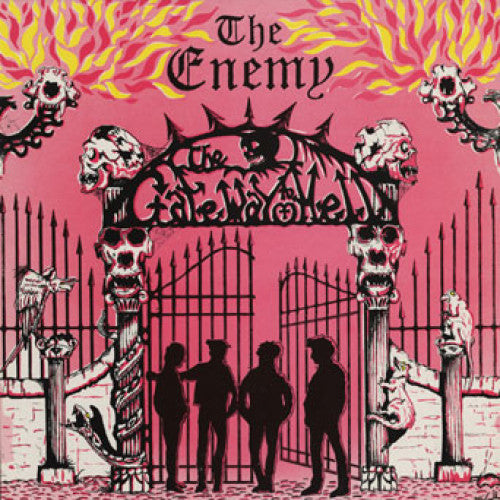 "PNV63-1 The Enemy ""The Gateway To Hell"" LP Album Artwork"