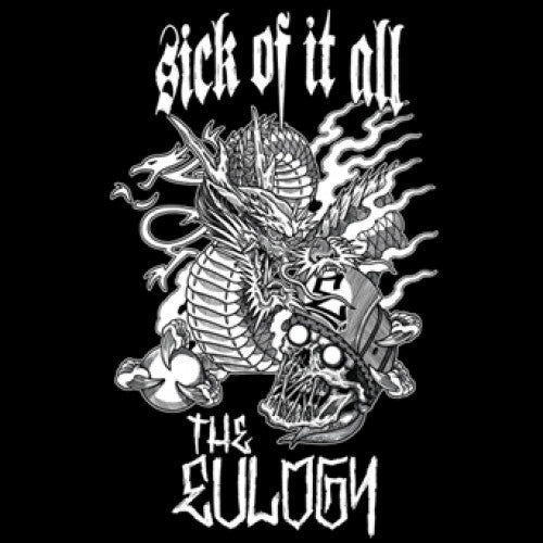"PTFL006-1 Sick Of It All / The Eulogy ""Split"" 7"" Album Artwork"